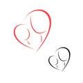 Logo motherhood and childhood