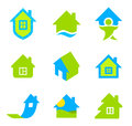Logo Real Estate Stock Image