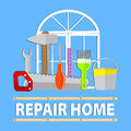 Logo repair home service
