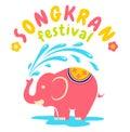 Logo For Songkran Festival