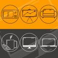 stock image of  Logo web design