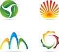 Logos Foto de Stock