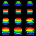 Logos spectrum 25.04.13 Royalty Free Stock Photo