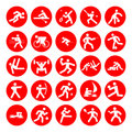 Logos of sports Stock Image