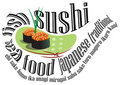 Logotipo do sushi Imagem de Stock