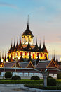 Loha Prasat Metal Palace Royalty Free Stock Photography