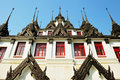Loha Prasat, Metal Palace in Bangkok Royalty Free Stock Photos