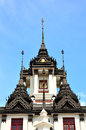 Lohaprasada Pinnacle of steel in a Thai temple Royalty Free Stock Photography