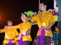 Loi kratong festival in thailand Royalty Free Stock Photography
