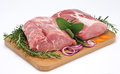Loin of pork Royalty Free Stock Photo