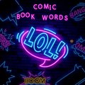 LOL neon sign . LOL pop art Design template neon sign, light banner, neon signboard, nightly bright advertising, light Royalty Free Stock Photo