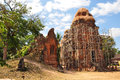 Lolei temple in siem reap cambodia is the northernmost of the roluos group of three late th century hindu temples Stock Photo