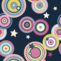 Lollies and Stars Seamless Pattern Royalty Free Stock Photo