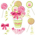 Lollipop bouquet Royalty Free Stock Photo
