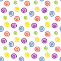 Lollipop. Candy. Seamless pattern.
