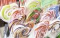 Lollipop colors Royalty Free Stock Photo