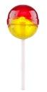 Lollipop with fruit flavour