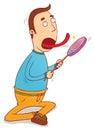 Lollipop licker