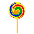 Lollipop vector illustration of colorful Royalty Free Stock Photography