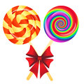 Lollipops background Stock Photo