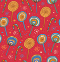 Lollipops background sugarplums differen t fruit drops sugar candies sweet seamless pattern Stock Image