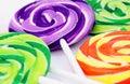 Lollipops variopinti Immagini Stock