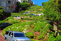 Lombard Street Gardens Royalty Free Stock Photo