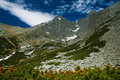 Lomnica Peak   High Tatras mountains of Slovakia Royalty Free Stock Photo