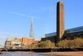 Londen tate modern museum van art Royalty-vrije Stock Foto's
