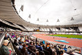 London 2012: olympic stadium Royalty Free Stock Photography
