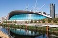 The London Aquatics Centre. Royalty Free Stock Photo