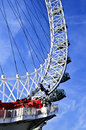 London-Auge Stockfoto