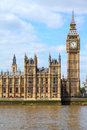 London - Big Ben Royalty Free Stock Photo