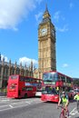 London big ben may people ride buses next to on may in with more than million international arrivals in is the most Stock Image