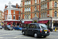 London black cabs Royalty Free Stock Photo