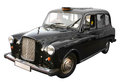 London black taxi cab Royalty Free Stock Photo