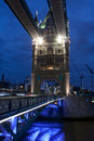 London bridge at night Royalty Free Stock Photography