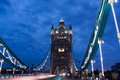 London bridge at night Royalty Free Stock Images
