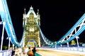 London bridge, night Royalty Free Stock Photo