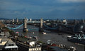 London bridge a picture of the with other elements of the city Royalty Free Stock Photo