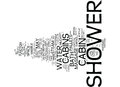London Builders Sheer Appeal Of Your Shower Part Two Text Background  Word Cloud Concept