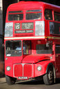 London bus Stock Image