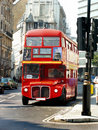 London Bus front Royalty Free Stock Photos
