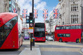 London bus Oxford Street W1 Westminster Royalty Free Stock Photo