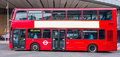 London bus red double decker Royalty Free Stock Photo