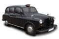 London Cab Royalty Free Stock Photo