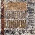 London Calling Grunge Background
