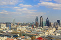 London Central District View Royalty Free Stock Images