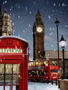London at Christmas Royalty Free Stock Photo