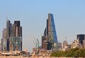 London City Construction Finance Royalty Free Stock Photo